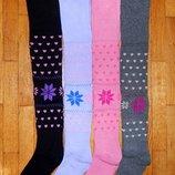 Махрові колготки для дівчаток Сніжинка 5-8 років.