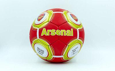 Мяч футбольный 5 гриппи Arsenal 0047-128 PVC, сшит вручную