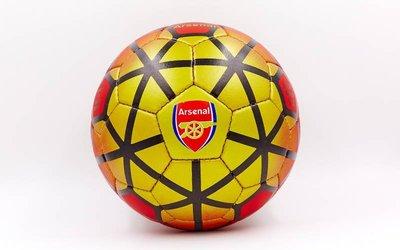 Мяч футбольный 5 гриппи Arsenal 0047-165 PVC, сшит вручную