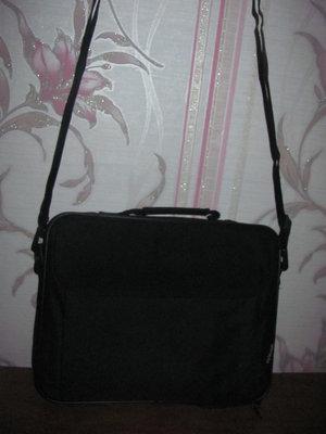 Мужская черная сумка портфель Sports Line
