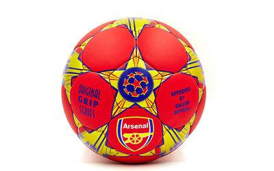 Мяч футбольный 5 гриппи Arsenal 0047-3678 PVC, сшит вручную