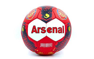 Мяч футбольный 5 гриппи Arsenal 0047-5102 PVC, сшит вручную