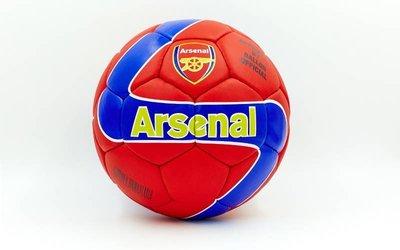 Мяч футбольный 5 гриппи Arsenal 0047A-443 PVC, сшит вручную