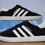 Мужские замшевые кроссовки Adidas Gazelle.