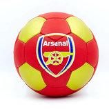 Мяч футбольный 5 гриппи Arsenal 0047-3656 PVC, сшит вручную