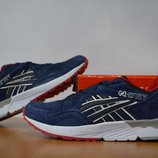 Замшевые мужские кроссовки Asics