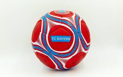Мяч футбольный 5 гриппи Bayern Munchen 0047-158 PVC, сшит вручную