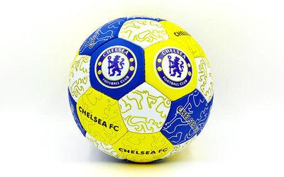 Мяч футбольный 5 гриппи Chelsea 0047-109 PVC, сшит вручную