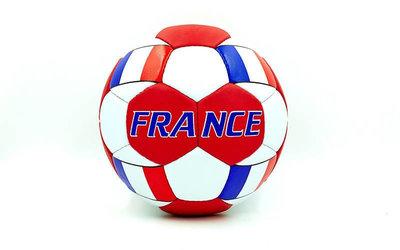Мяч футбольный 5 гриппи France 0047-137 PVC, сшит вручную