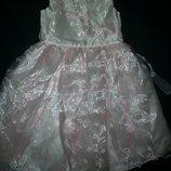 Нарядное платье Ladybird 3-4г,
