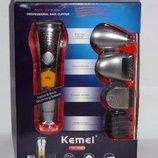 Триммер для стрижки волос Kemei KM-580A 7 в 1, бритва