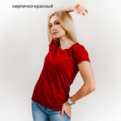 Женские футболки, лёгкие. Хлопок. Выбор цвета