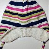 Зимняя шапка на флис-меху.Dolli von Doll.Германия.р.53
