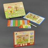 Деревянная обучающая игрушка Расчётная Доска С23211 дерево цыфры счет Размер упаковки 32 см × 3 см