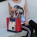 Большая тканевая сумка Anello оригинального дизайна