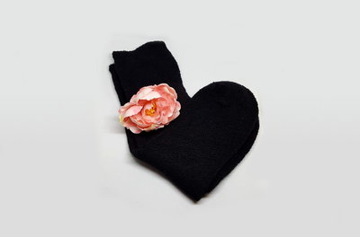 Черные женские махровые носки р. 38-40 Takko Fashion Германия