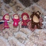 Киндеры игрушки Маша и Медведь