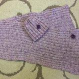 Набір шапка шарф,набор шапочка шарфик зима,зимова,зимняя