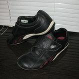Кожаные кроссовки, мокасины Lacoste оригинал 37 размер
