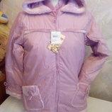 куртка для девочки с жилетом внутри ,деми или теплая зима