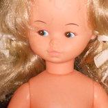 очень интересная винтажная куколка Playmates Гонконг оригинал клеймо 30 см