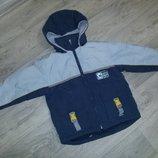 Куртка евро зима 122 см курточка теплая мальчик как Zara Next H&M F&F esprit nike adidas puma
