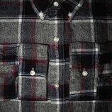 Мужская рубашка в клетку в крапп байка Next XL