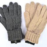 Женские трикотажные перчатки