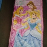 Детский спальный мешок.Принцессы.
