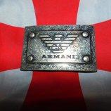 Стильная брендовая пряжка бляха Armani