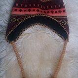 Оригинальная шапка с ушками