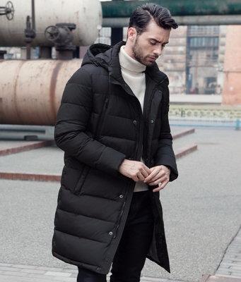 Зимняя куртка пальто, удлиненная