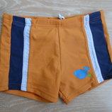 Плавки шорты мальчику 98 см море бассейн