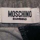 Стильная теплая юбка на девочку от бренда Moschino bambino.Оригинал