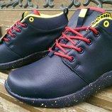 Зимние ботинки Тм Restime кожа