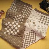Новый двусторонний мягенький плотный шарф,очень тёплый и приятный к телу