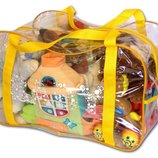 Сумка в роддом для игрушек прозрачная сумка