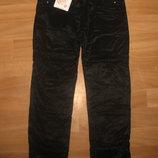 Черные брюки на флисе для девочек Супер цена.