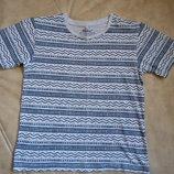 футболка Rebel мальчику на 7-8 лет рост 122-128см