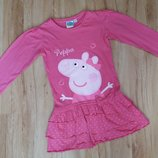 Модне платтячко для дівчинки 5-6 р.Peppa