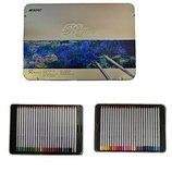 Олівці 50 кольорів Marco Raffine в металевому пеналі