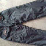 Зимние теплые штаны мальчику,рост 100-110