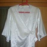 Белая рубашка, блуза р.М .