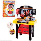Детский игровой набор, верстак с инструментами М 0447