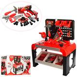 Игровой набор инструментов 8012, Верстак, 46 деталей