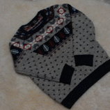 Тепленький свитерок George на мальчика 6-7 лет