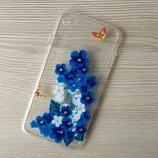 Чехол из прозрачного силикона в фирменной упаковке для iPhone 5 6 7 7плюс