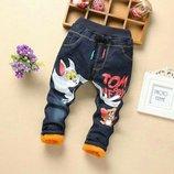 джинсы, теплые джинсы