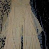 Платье сарафан ромпер с брюками yessica новое нарядное размер 42