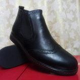 Стильные зимние ботинки под броги Madoks